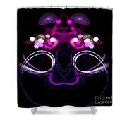 Abstract Sixteen Shower Curtain