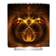 Abstract Sixty-five Shower Curtain