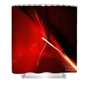 Abstract Sixty-four Shower Curtain
