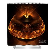 Abstract Sixty-six Shower Curtain