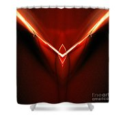 Abstract Sixty-three Shower Curtain