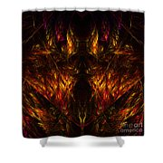Abstract Thirty-nine Shower Curtain