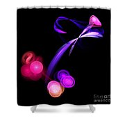 Abstract Twelve Shower Curtain