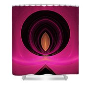 Abstract Twenty-five Shower Curtain