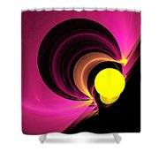Abstract Twenty-four Shower Curtain