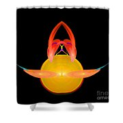 Abstract Twenty-two Shower Curtain