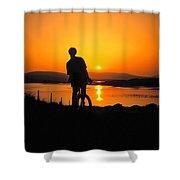 Achill Island, Co Mayo, Ireland Shower Curtain