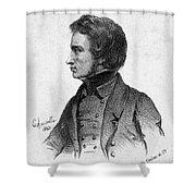 Adam Mickiewicz (1798-1855) Shower Curtain