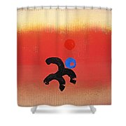 African Figure Shower Curtain