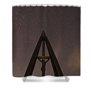 Against The Stars Shower Curtain