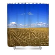Agricultural Landscape Shower Curtain