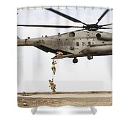 Air Force Pararescuemen Conduct Shower Curtain