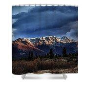 Alaskan Morning Shower Curtain