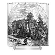 Albert Bierstadt (1830-1902) Shower Curtain by Granger