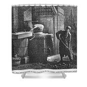 Alcohol: Distillation Shower Curtain