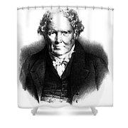 Alexander Monro IIi, Scottish Anatomist Shower Curtain