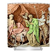 Alexander The Great And His Physician Shower Curtain