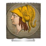 Alexander The Great, Greek King Shower Curtain