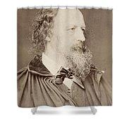 Alfred Tennyson Shower Curtain