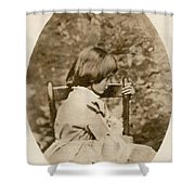 Alice Liddell, Alices Adventures Shower Curtain