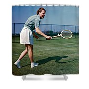 Alice Marble (1913-1990) Shower Curtain