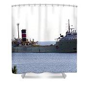 Alpena Ship Shower Curtain