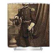 Ambrose Burnside, Union General Shower Curtain