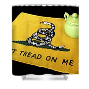 American Tea Party Shower Curtain