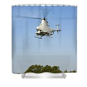 An Mq-8b Fire Scout Unmanned Aerial Shower Curtain