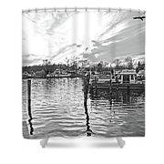 Anchor Inn Cove Shower Curtain