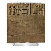 Ancient Astronomical Calendar Shower Curtain