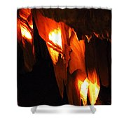Ancient Old Grotte Magdaleine Shower Curtain