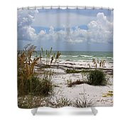 Anclote Key Preserve Shower Curtain