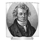 Andre Marie Ampere Shower Curtain