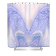 Angel Wings Shower Curtain by Christopher Gaston