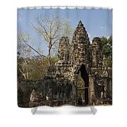 Angkor Thom Shower Curtain