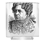 Ann Sophia Stephens Shower Curtain