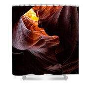 Antelope Canyon Page Arizona Shower Curtain