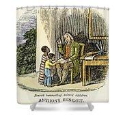 Anthony Benezet (1713-1784) Shower Curtain