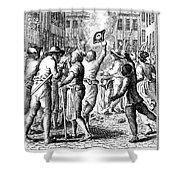 Anti-stamp Act, Boston, 1765 Shower Curtain