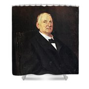 Anton Bruckner (1824-1896) Shower Curtain