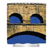 Aqueduc Du Pont Du Gard.provence Shower Curtain