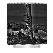 Arch Rock Oregon Coast Shower Curtain