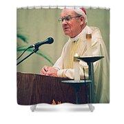 Archbishop Raymond Hunthausen Shower Curtain