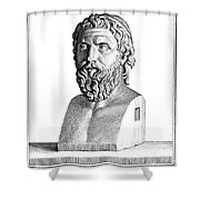Aristophanes (c450-c388 B.c.) Shower Curtain by Granger