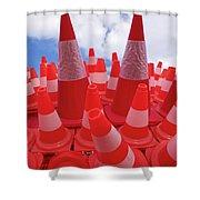 Arrecife Play Room Art Shower Curtain