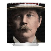 Arthur Conan Doyle, Scottish Author Shower Curtain