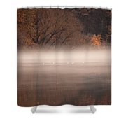 As The Fog Lifts Shower Curtain
