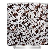 Aspen Mocha Latte Shower Curtain