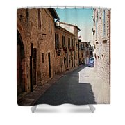 Assisi Italy Shower Curtain